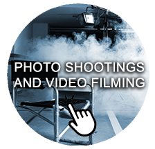 Photoshootings and video filming