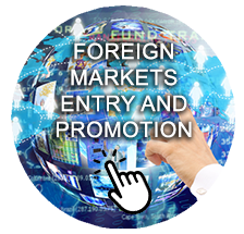 Advertising on a foreign markets